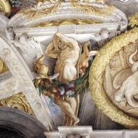 Domenico Maria Canuti, salone di palazzo pepoli campogrande con apoteosi di ercole, quadrature del mengazzino, xvii sec. 33 - Sailko - Bologna (BO)