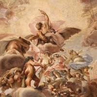 Domenico Maria Canuti, salone di palazzo pepoli campogrande con apoteosi di ercole, quadrature del mengazzino, xvii sec. 02 - Sailko - Bologna (BO)