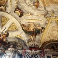Domenico Maria Canuti, salone di palazzo pepoli campogrande con apoteosi di ercole, quadrature del mengazzino, xvii sec. 22 - Sailko - Bologna (BO)