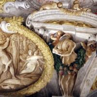 Domenico Maria Canuti, salone di palazzo pepoli campogrande con apoteosi di ercole, quadrature del mengazzino, xvii sec. 35 - Sailko - Bologna (BO)