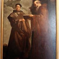 Simone cantarini, ss. antonio da padova e francesco di paola, 1640-45 ca., da s. tommaso al mercato 01 - Sailko - Bologna (BO)