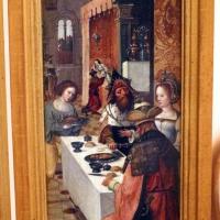 Pittore di anversa, trittico con storie di ester, assuero, adamo ed eva, 1520 ca. 04 - Sailko - Bologna (BO)
