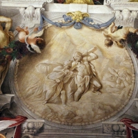 Domenico Maria Canuti, salone di palazzo pepoli campogrande con apoteosi di ercole, quadrature del mengazzino, xvii sec. 28,2 - Sailko - Bologna (BO)