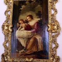 Giovan francesco gessi (attr.), donna che cuce - Sailko - Bologna (BO)