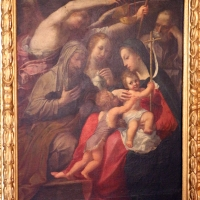 Francesco carracci, sacra famiglia con tre santi 02 - Sailko - Bologna (BO)