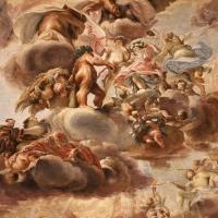 Domenico Maria Canuti, salone di palazzo pepoli campogrande con apoteosi di ercole, quadrature del mengazzino, xvii sec. 03 - Sailko - Bologna (BO)