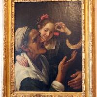 Antonio amorosi, fanciulla che mostra delle ciliegie a una vecchia - Sailko - Bologna (BO)