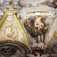 Domenico Maria Canuti, salone di palazzo pepoli campogrande con apoteosi di ercole, quadrature del mengazzino, xvii sec. 30 - Sailko - Bologna (BO)