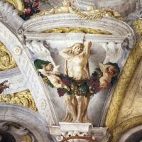 Domenico Maria Canuti, salone di palazzo pepoli campogrande con apoteosi di ercole, quadrature del mengazzino, xvii sec. 26 - Sailko - Bologna (BO)