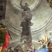 Donato creti, alessandro taglia il nodo gordiano, 1708-10, palazzo pepoli 07 - Sailko - Bologna (BO)