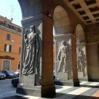 BO - Portici della Questura 02 - ElaBart - Bologna (BO)
