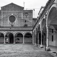Portico della Chiesa dei Servi di Maria - Vanni Lazzari - Bologna (BO)