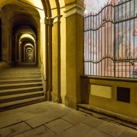 S. Luke's Arcade at night - Ugeorge - Bologna (BO)