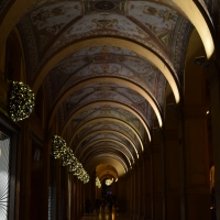 Portico di Via Farini nel periodo natalizio - Ste Bo77 - Bologna (BO)