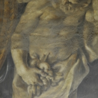 BO - Sala Farnse in Palazzo d'Accursio - Falso Teodosiano - Dettaglio Affresco - ElaBart - Bologna (BO)