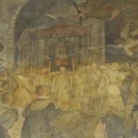 BO - Sala Farnese in Palazzo d'Accursio - La Processione di San Luca - Dettaglio Affresco - ElaBart - Bologna (BO)
