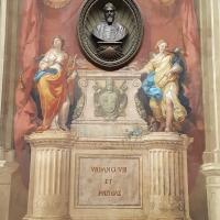 Bologna. Sala Urbana. Affresco in memoria di Urbano VIII - Raffacossa - Bologna (BO)