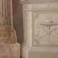 Sala Urbana - particolare affresco colonne - Opi1010 - Bologna (BO)