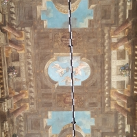 Bologna. Sala Urbana. Il soffitto - Raffacossa - Bologna (BO)