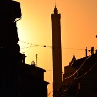 Torre Asinelli in un tramonto estivo - Ste Bo77 - Bologna (BO)