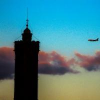 Volando verso la torre degli Asinelli - Angelo nacchio - Bologna (BO)