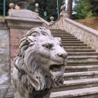 La scala di accesso da via Saragozza - Lelleri - Bologna (BO)