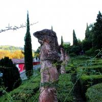 Statue in Villa Spada - LunaLinda - Bologna (BO)