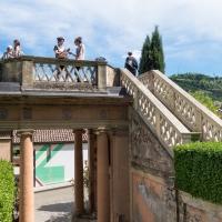 Giardino di Villa Spada, il balconcino - Ugeorge - Bologna (BO)