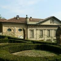 Parco con scorcio di Villa Spada - Lelleri - Bologna (BO)