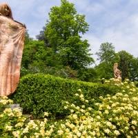 Il giardino di Villa Spada con le rose in fiore - Ugeorge - Bologna (BO)
