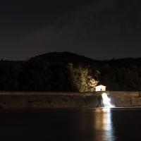 Notturno alla Chiusa sul Reno - Paolocortesiwiki - Casalecchio di Reno (BO)