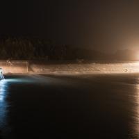 La Chiusa di Reno di notte - Paolocortesiwiki - Casalecchio di Reno (BO)