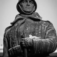 Monumento ai Caduti, particolare - Paolo Cortesi - Castello d'Argile (BO)