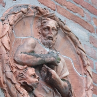 Dettaglio del bassorilievo Chiesa della SS. Concezione - EloisaG - Crevalcore (BO)