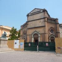 Chiesa di San Silvestro post terremoto - MORSELLI - Crevalcore (BO)