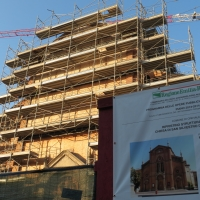Chiesa S.Silvestro post sisma Crevalcore - DONAT - Crevalcore (BO)