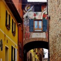 Case graffiti - Melyssa Costi - Dozza (BO)