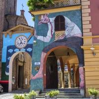 Dozza Piazza Zotti - Wwikiwalter - Dozza (BO)