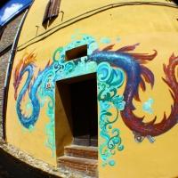 Graffiti nel borgo di Dozza - Giusy Catone - Dozza (BO)