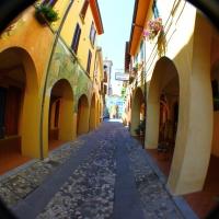 Vista sul borgo di Dozza - Giusy Catone - Dozza (BO)