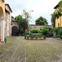 Imola, palazzo tozzoni, esterno, cortile 04 - Sailko - Imola (BO)