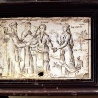 Cassetta in legno e avorio, 1850-1900 ca. 03 - Sailko - Imola (BO)