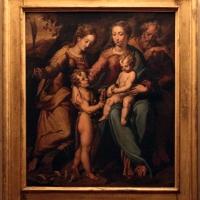 Scuola romagnola, sacra famiglia coi ss. giovannino e caterina, xvi secolo - Sailko - Imola (BO)