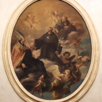Scuola emiliana, santo in gloria, xviii secolo - Sailko - Imola (BO)