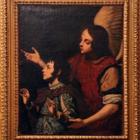 Pittore toscano, angelo custode, 1600-50 ca - Sailko - Imola (BO)