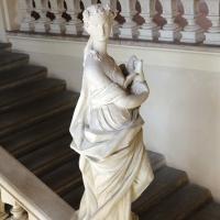 Imola, palazzo tozzoni, scalone con statue in stucco di francesco janssens, 1735 ca. 07 - Sailko - Imola (BO)