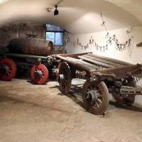 Imola, palazzo tozzoni, cantine, carri del 1830 e 1856, 02 - Sailko - Imola (BO)