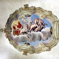 Imola, palazzo tozzoni, salone, 03 affresco con carro del sole - Sailko - Imola (BO)