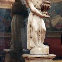 Imola, palazzo tozzoni, salotto del papa, angelo reggicandela, xvi secolo ca. 02 - Sailko - Imola (BO)