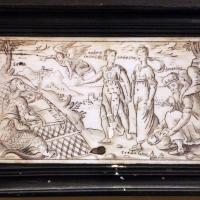 Cassetta in legno e avorio, 1850-1900 ca. 04 - Sailko - Imola (BO)